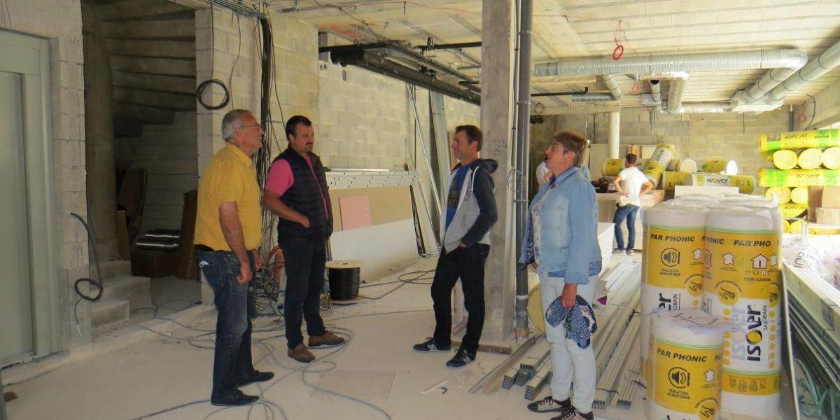 Centre œnotouristique Les Riceys - Construction